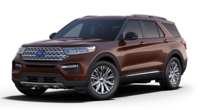 New Ford 2020 Ford Explorer Limited 4WD EcoBoost SUV in Clarksburg, WV